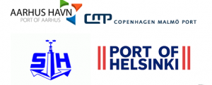 Four Ports - Onshore Power in Baltic Seaports Logo