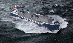 LNG Bunker Schiff