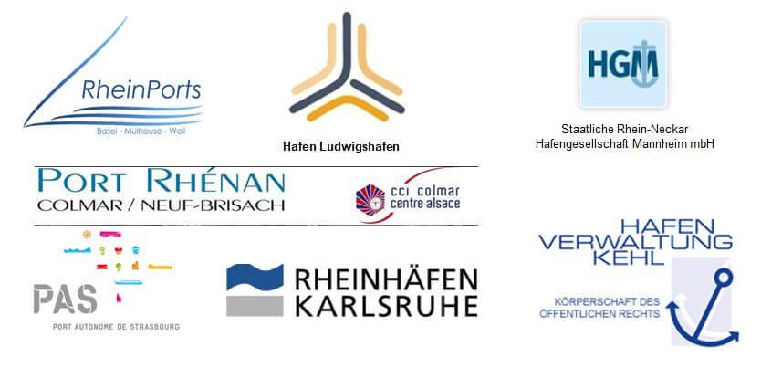 Upper Rhine Ports Logo